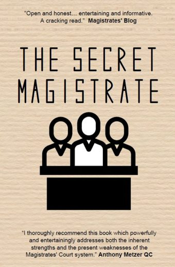 The Secret Magistrate cover